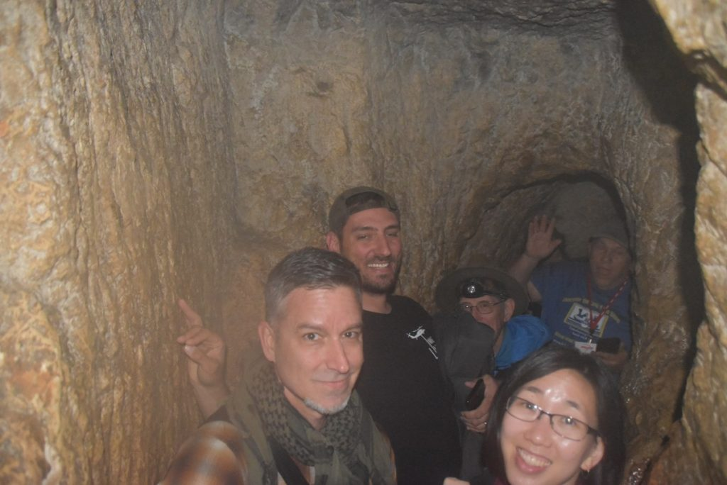 Hezekiah's Tunnel Feb 2020 Israel Tour with John DeLancey BIMT
