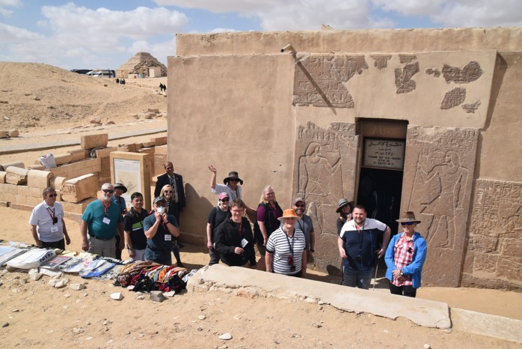 Sakara Egypt Tour with John DeLancey and BIMT