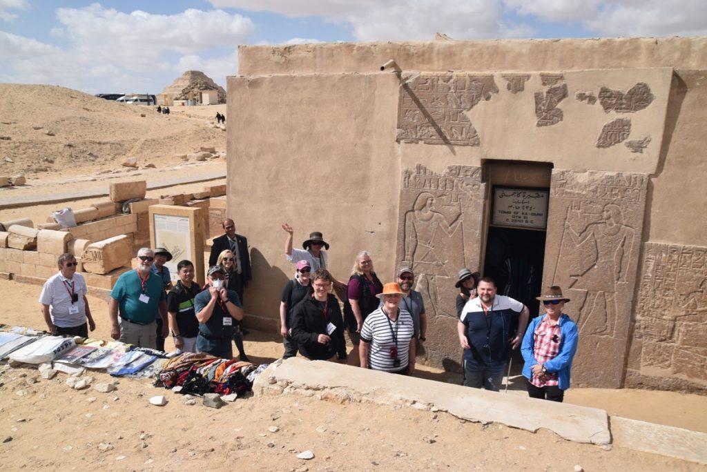 Sakara Egypt Tour with John DeLancey and BIMT