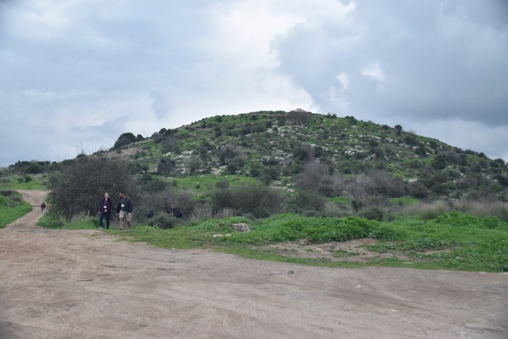 Socoh and Elah Valley Feb 2020 Israel Tour with John DeLancey and BIMT