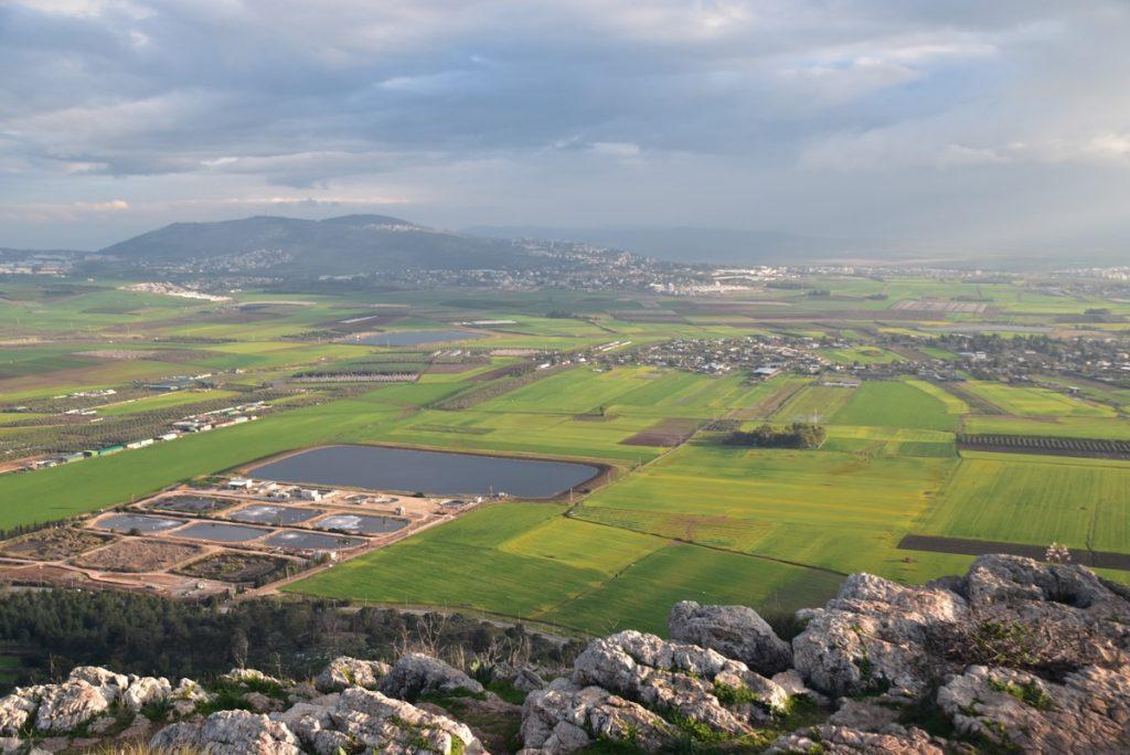 Jezreel Valley Feb 2020 Israel Tour with Egypt John DeLancey