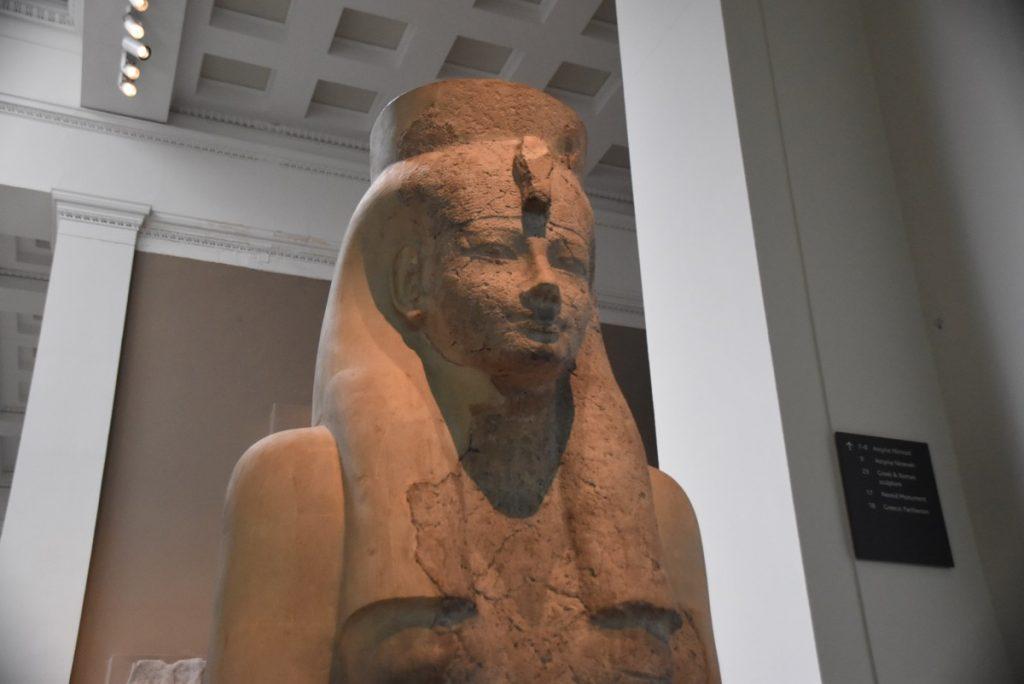 Ramses II British Museum Feb 2020 Israel Tour with John DeLancey