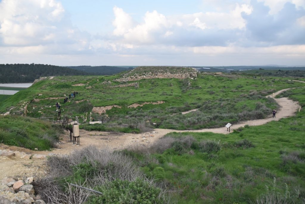 Lachish Feb 2020 Israel Tour with John DeLancey and BIMT