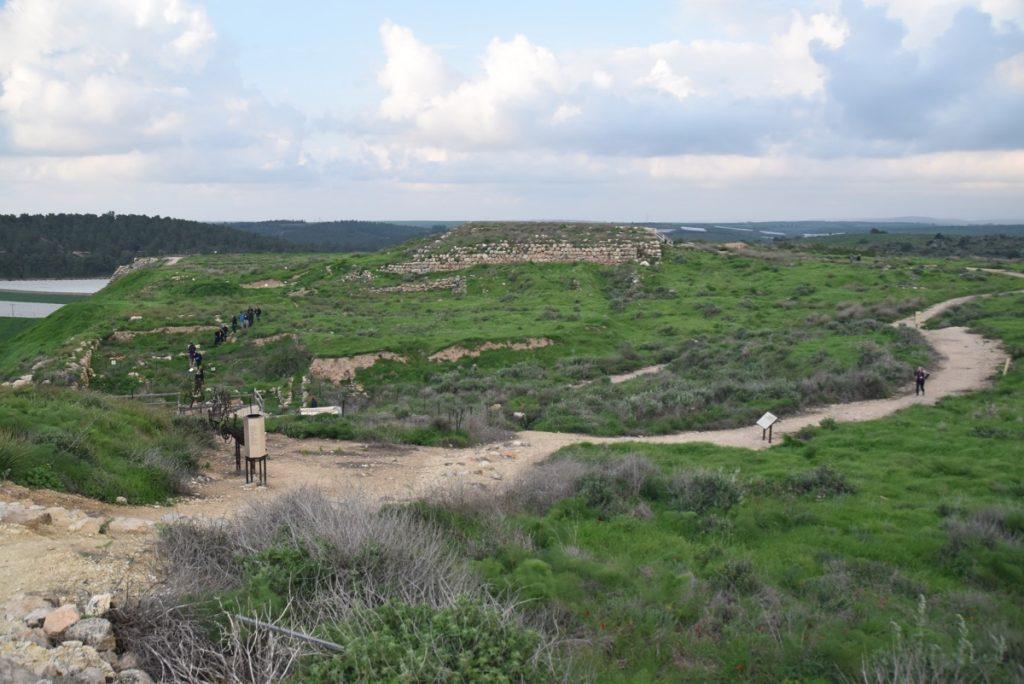 Lachish Feb 2020 Israel Tour with John DeLancey and BIMT