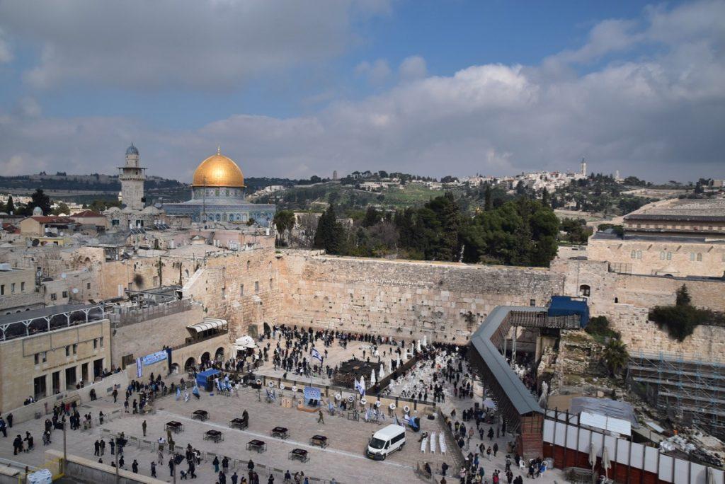 Western Wall Feb 2020 Israel Tour with John DeLancey BIMT