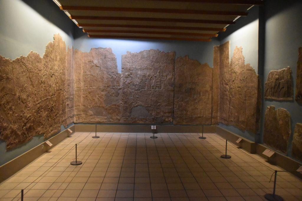 Lachish Siege British Museum Feb 2020 Israel Tour with John DeLancey
