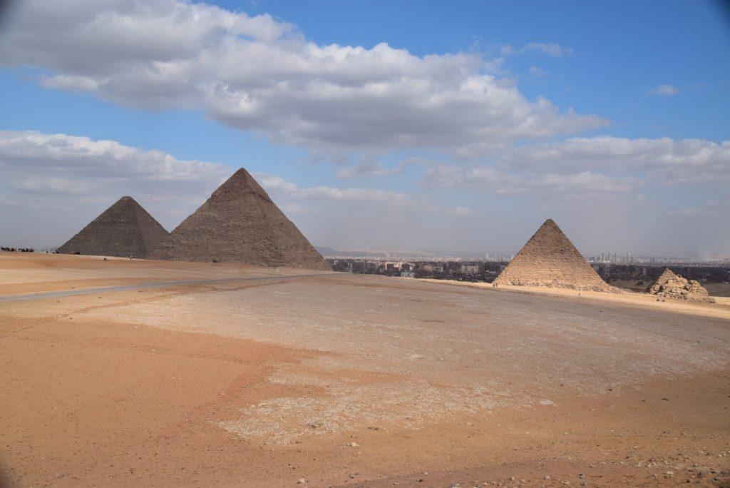 Giza Pyramids Egypt Tour Feb 2020 Israel Tour with John DeLancey
