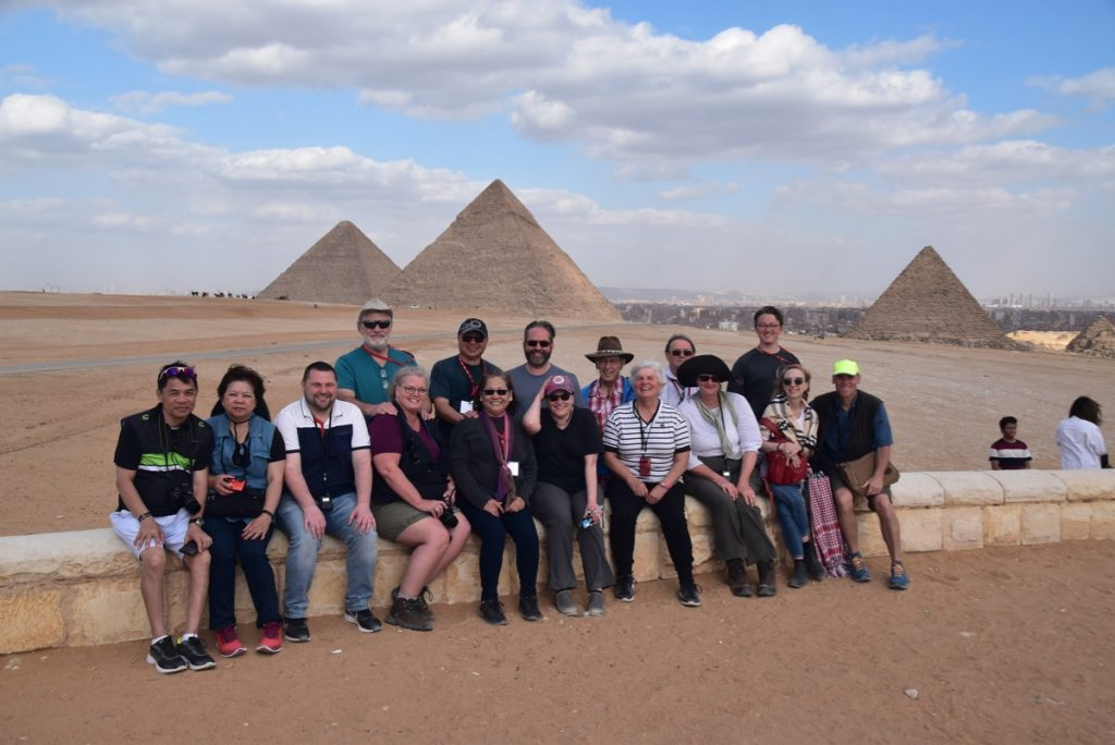 Pyramids Egypt Tour with John DeLancey and BIMT