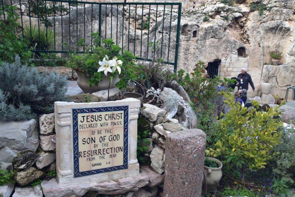 Garden Tomb Jerusalem Feb 2020 Israel Tour with John DeLancey BIMT
