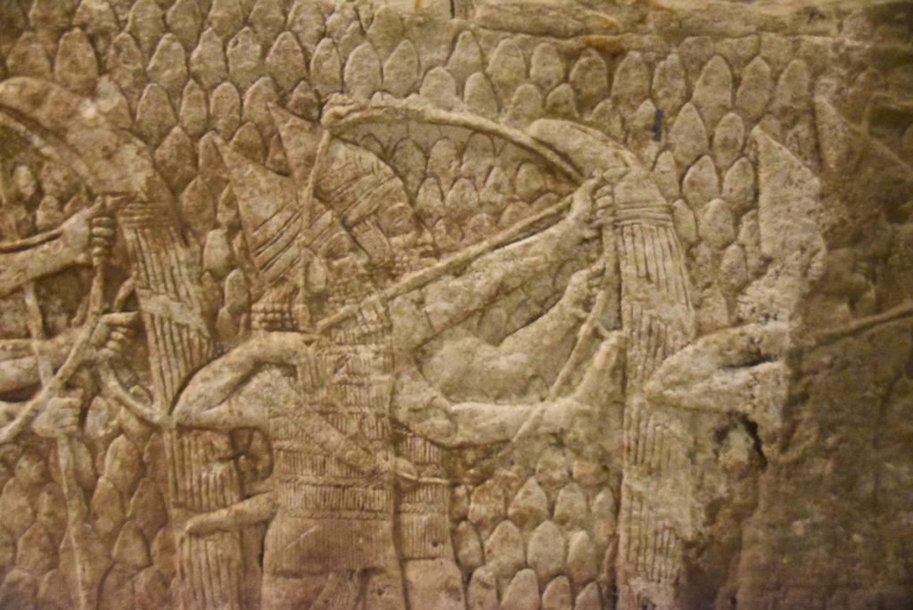 Lachish Siege British Museum Feb 2020 Israel Tour with John DeLancey