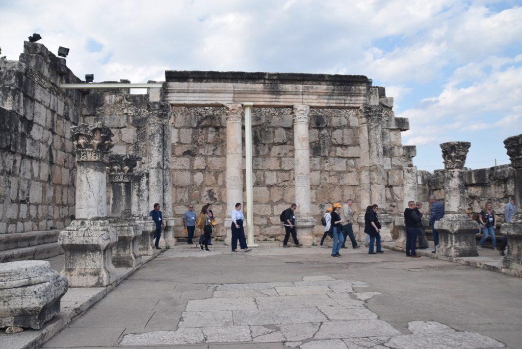 Capernaum Feb 2020 Israel Tour with John DeLancey