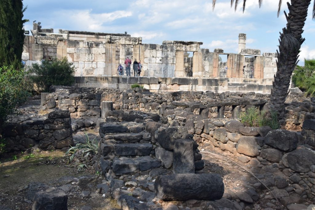 Capernaum Feb 2020 Israel Tour with John DeLancey