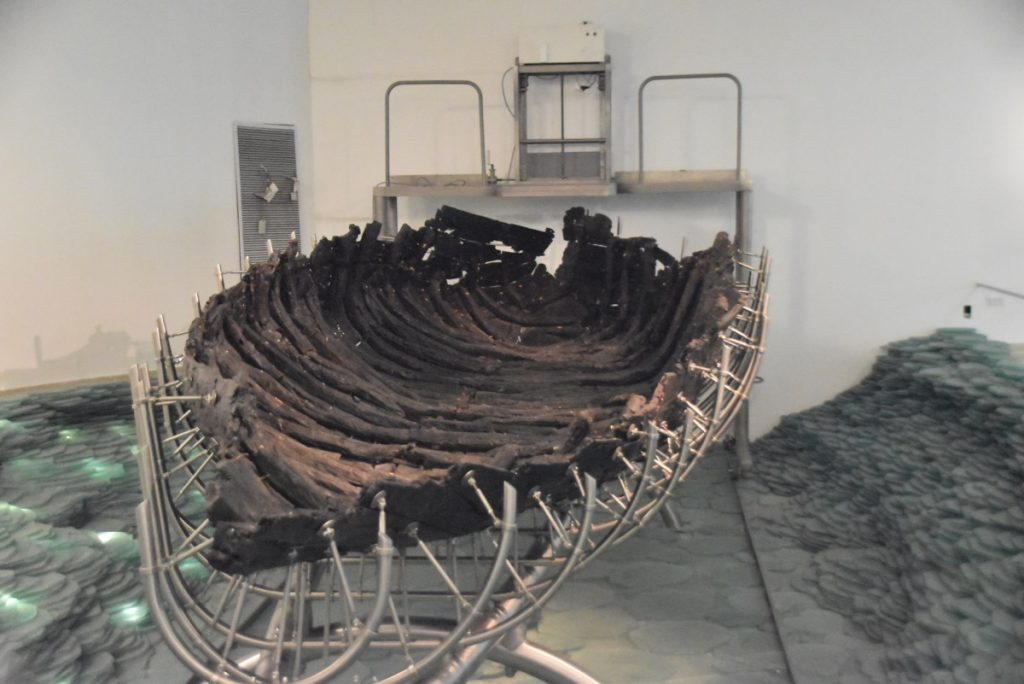 Ancient Boat Feb 2020 Israel Tour with John DeLancey