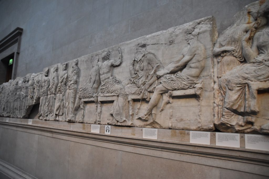 Pediment of Parthenon