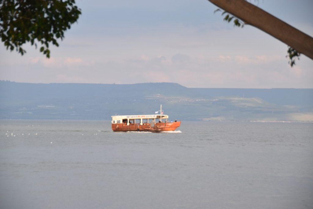 Sea of Galilee Feb 2020 Israel Tour with John DeLancey