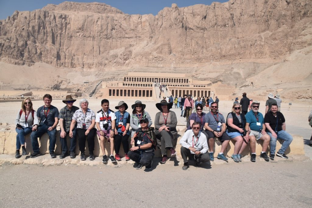 Hatshepsut Temple Egypt Tour with John DeLancey and BIMT