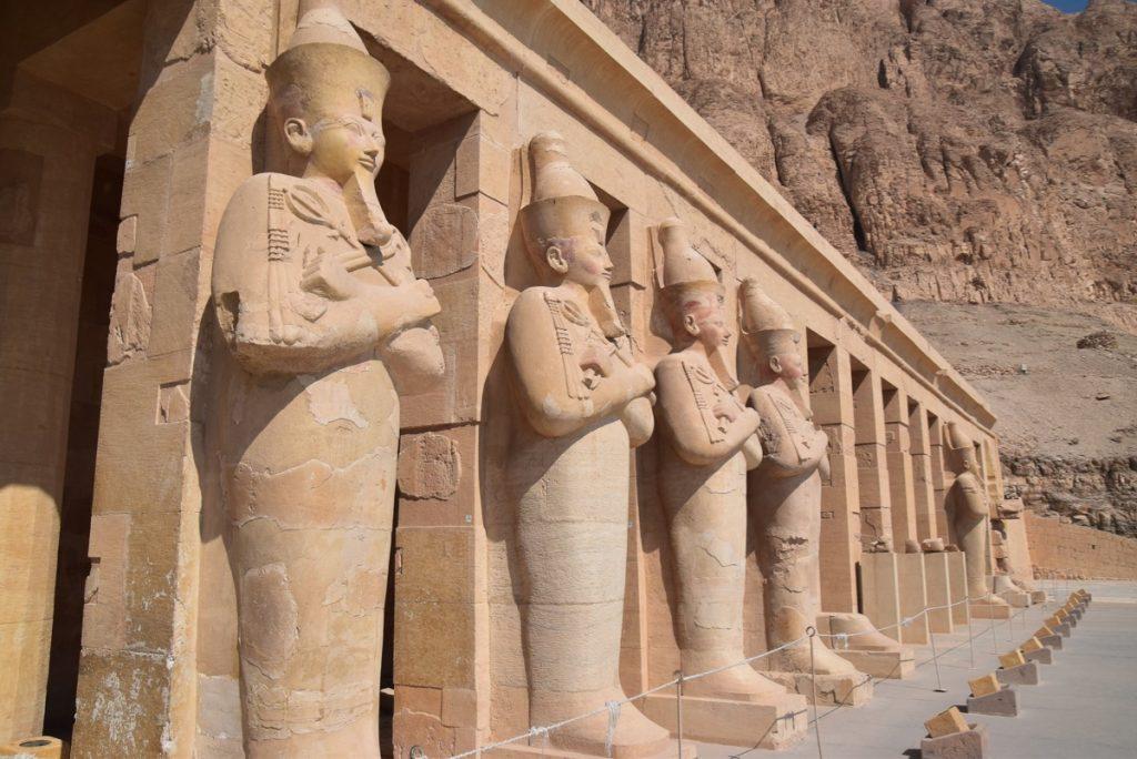 Hatshepsut Temple Feb 2020 Egypt Tour with John DeLancey