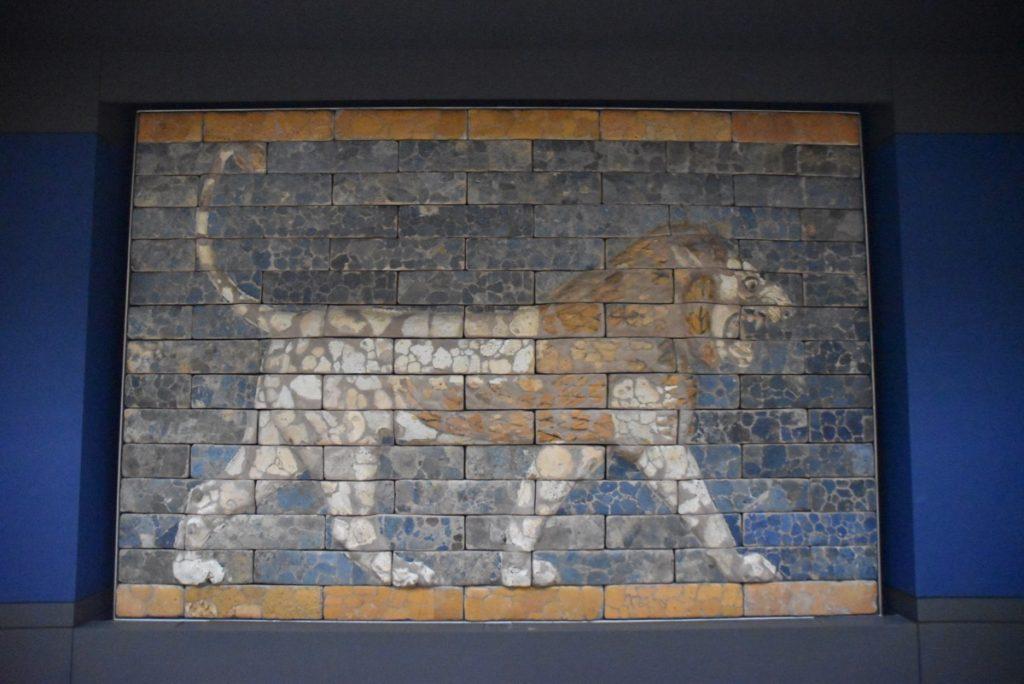 Nebuchadnezzar Lion British Museum Feb 2020 Israel Tour with John DeLancey