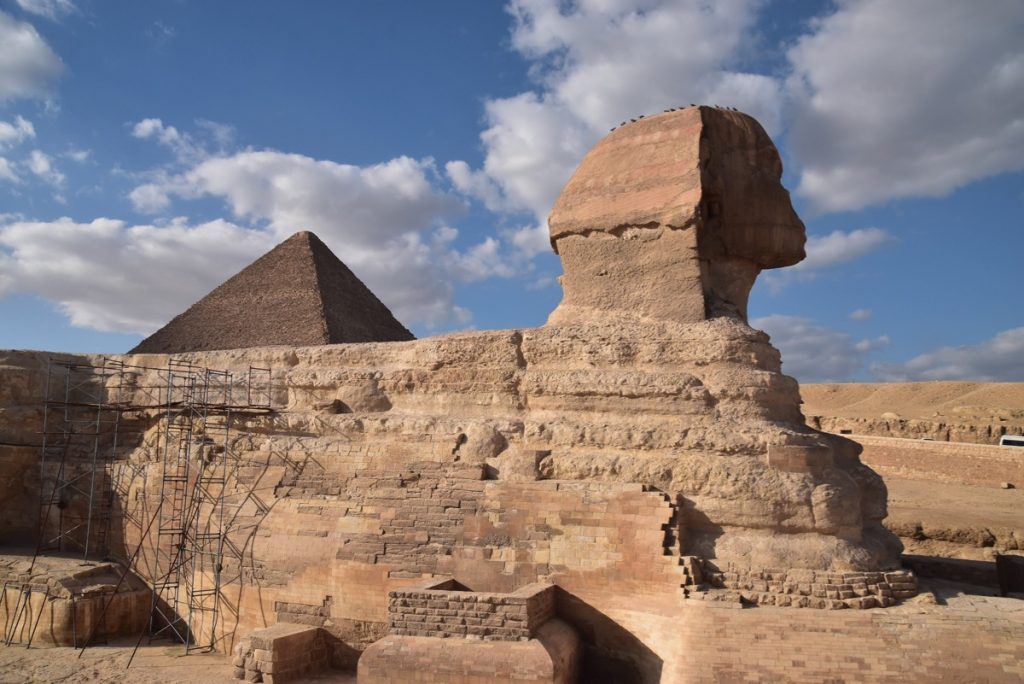 Giza Pyramids Sphinx Egypt Tour Feb 2020 Israel Tour with John DeLancey