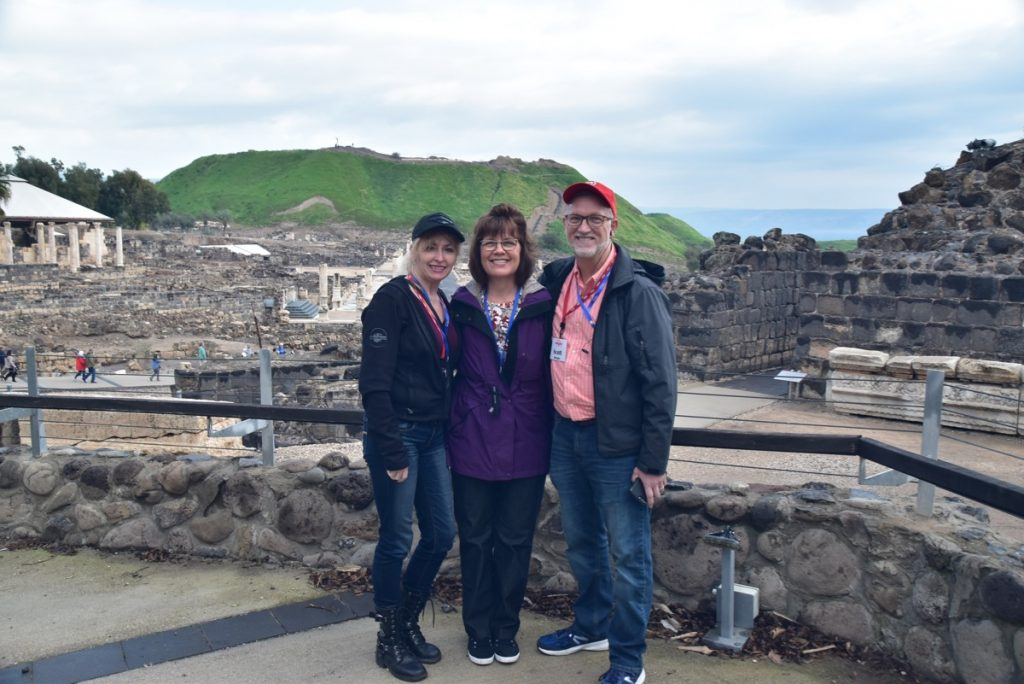 Feb 2020 Israel Tour Group with John DeLancey and BIMT