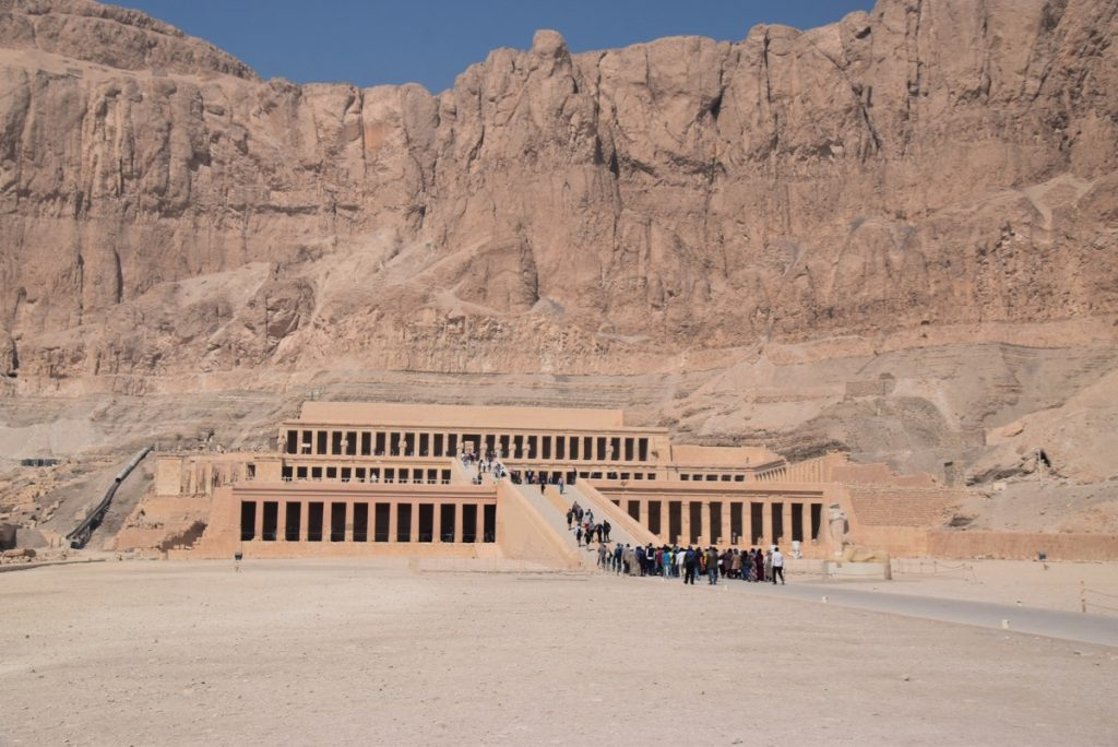 Hatshepsut Temple Feb 2020 Egypt Tour with John DeLancey
