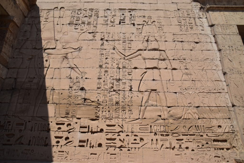 Medinet Habu Temple Feb 2020 Egypt Tour with John DeLancey
