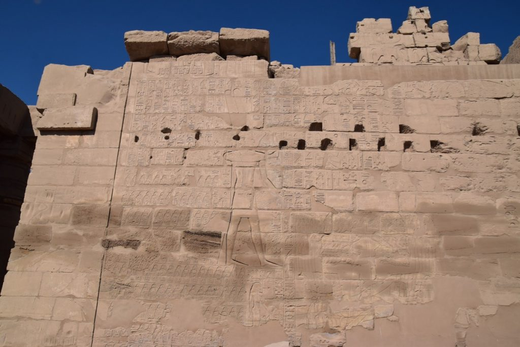 Karnak Temple Shishak Feb 2020 Egypt Tour with John DeLancey BIMT