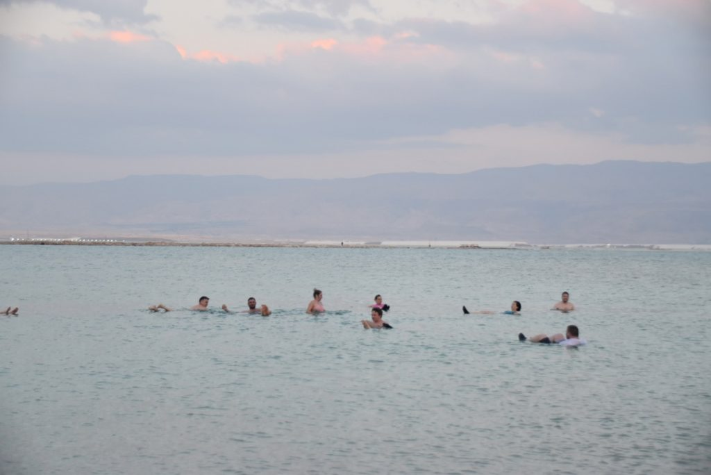 Dead Sea Feb 2020 Israel Tour with John Delancey of Biblical Israel Ministries & Tours