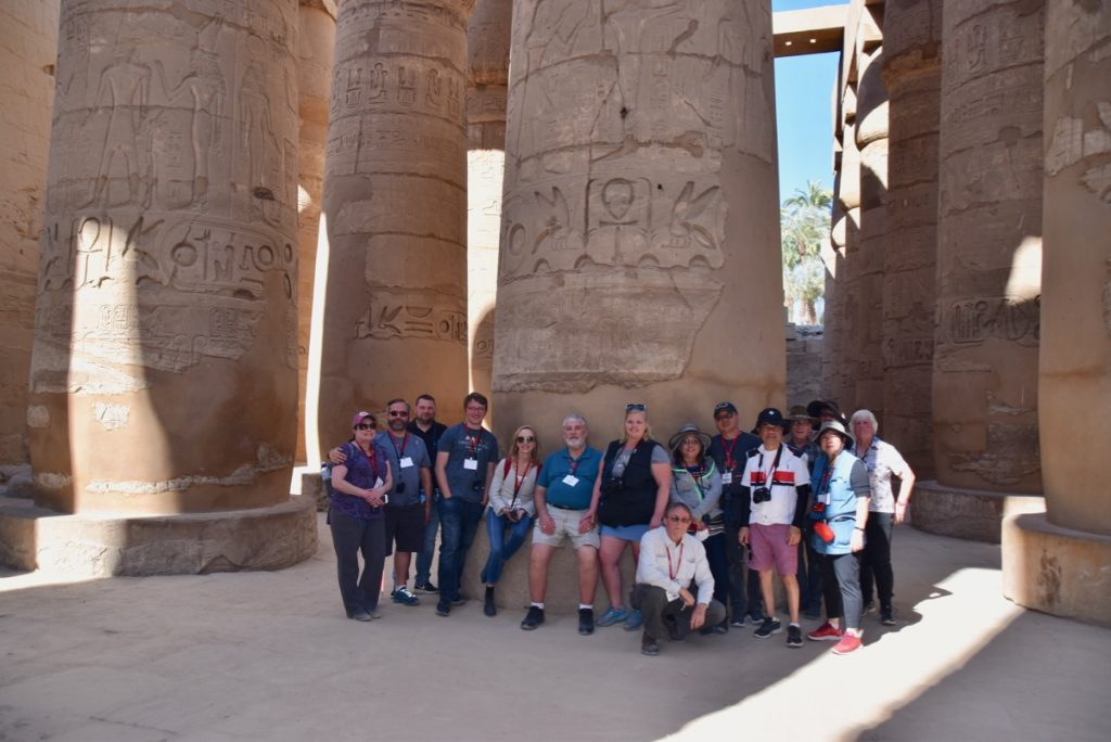 Karnak Temple Egypt Tour with John DeLancey and BIMT