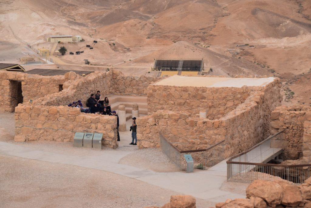 Masada Feb 2020 Israel Tour with John DeLancey and BIMT