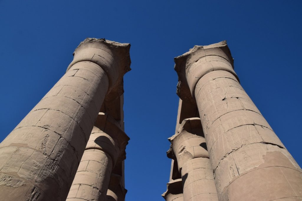 Luxor Temple Feb 2020 Egypt Tour with John DeLancey BIMT