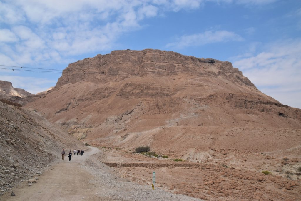 Masada Feb 2020 Israel Tour with John DeLancey and BIMT