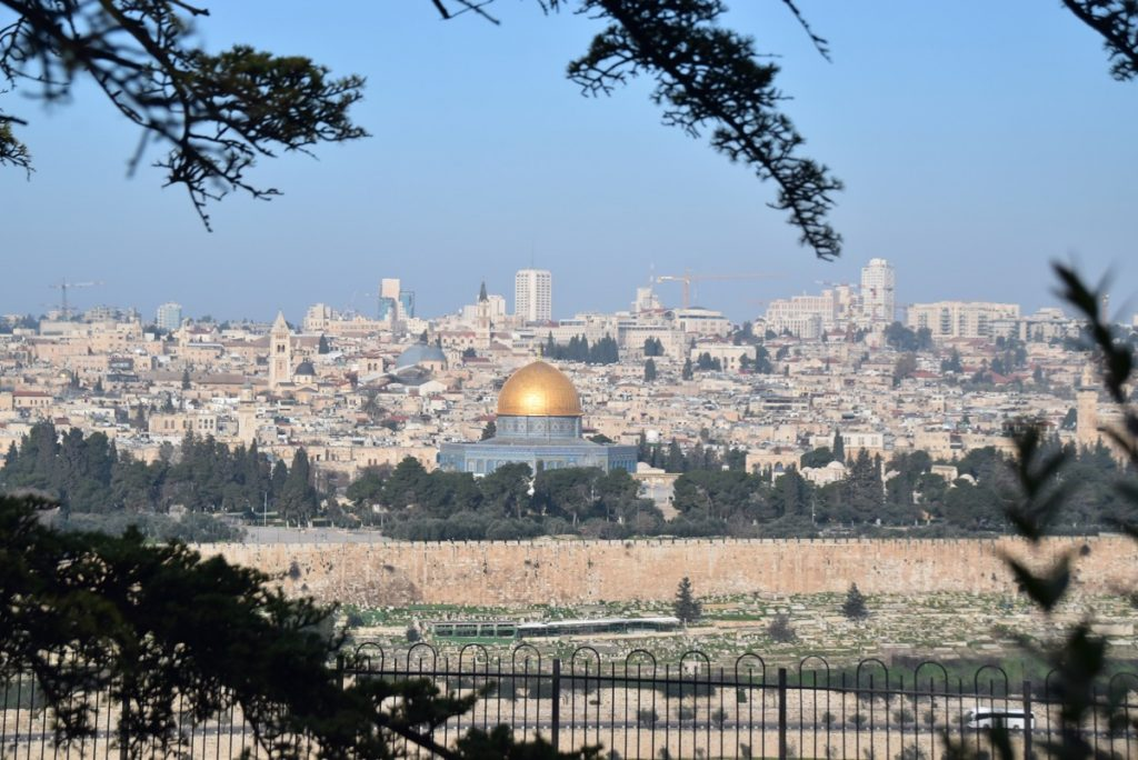 Jerusalem Feb 2020 Israel Tour with John DeLancey and BIMT