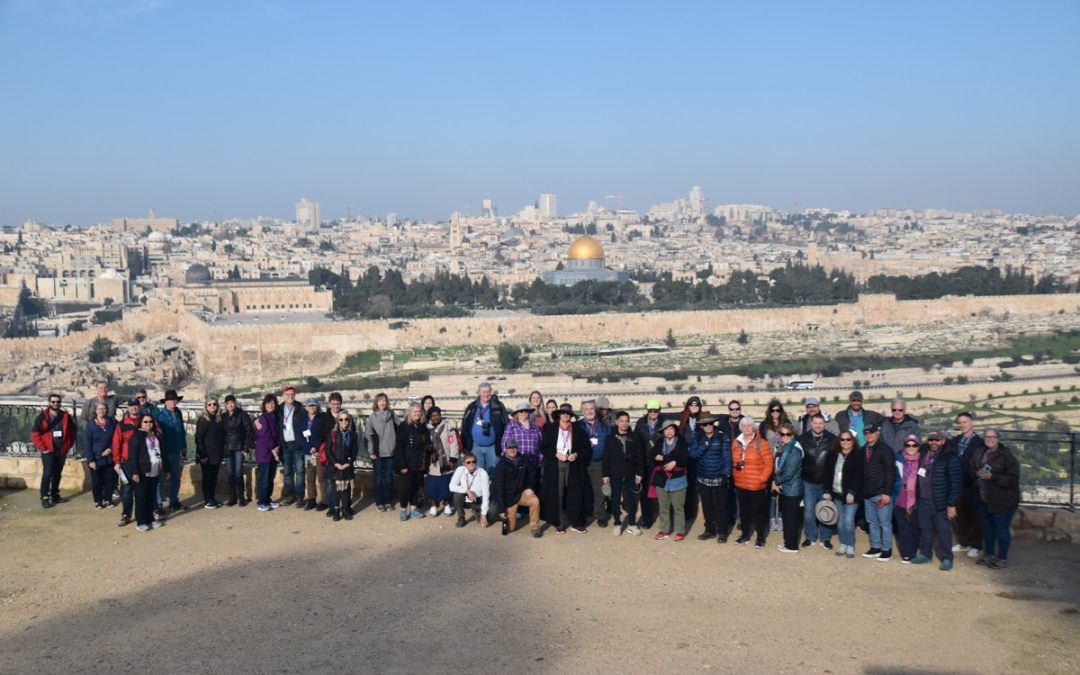 February 2020 Israel Tour Summary (with Egypt): Day 8
