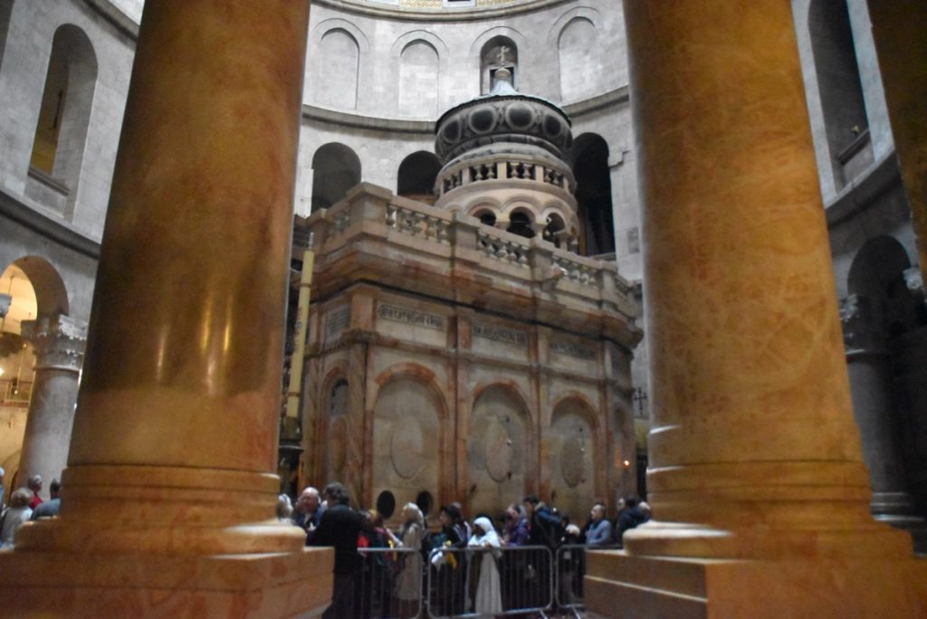 Holy Sepulcher Feb 2020 Israel Tour with John DeLancey and BIMT