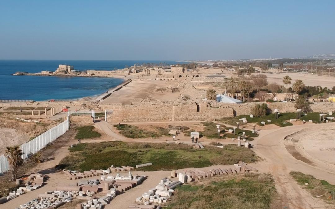 Visiting Caesarea Maritima