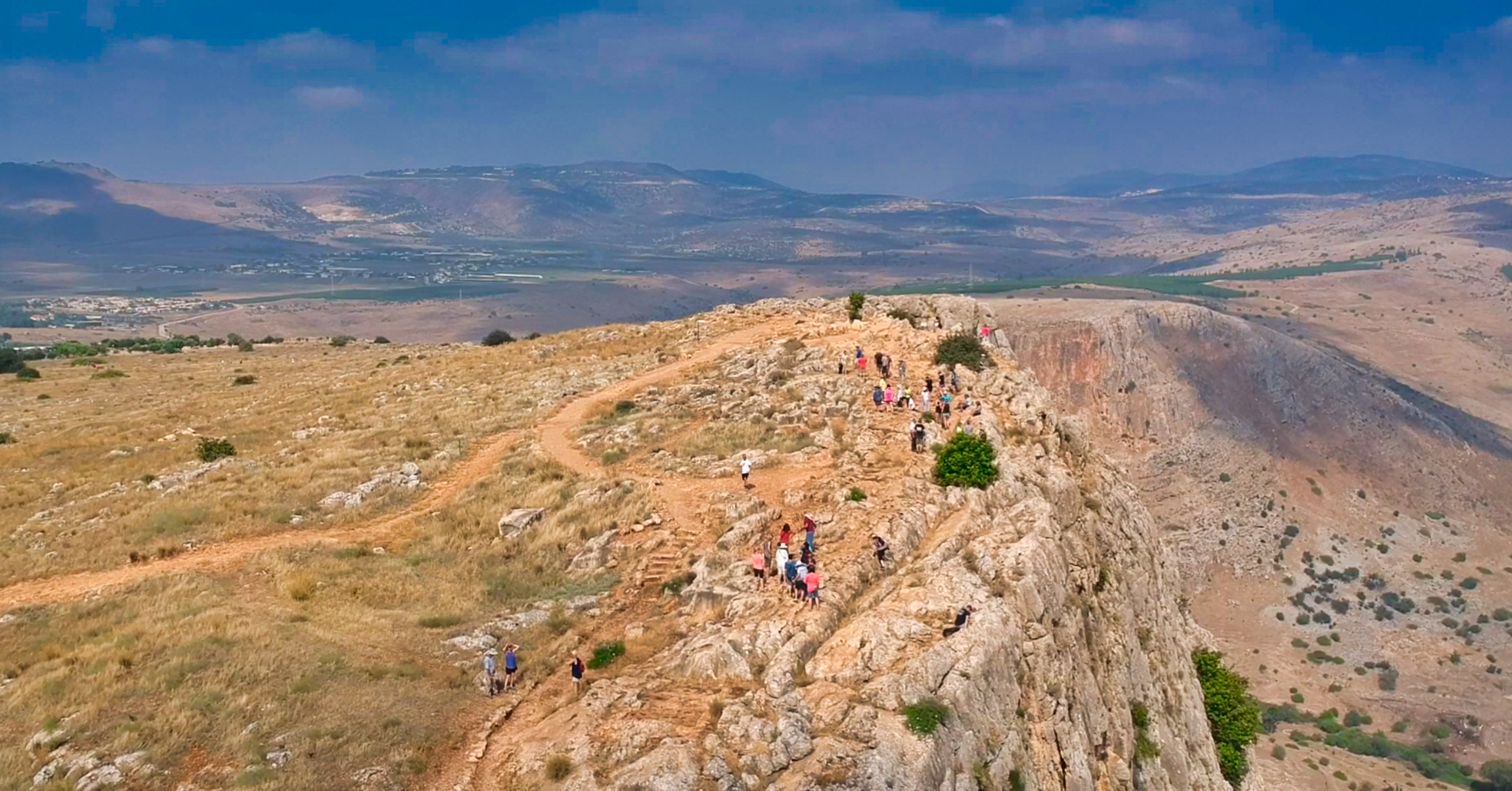 Drone video of Mt. Arbel