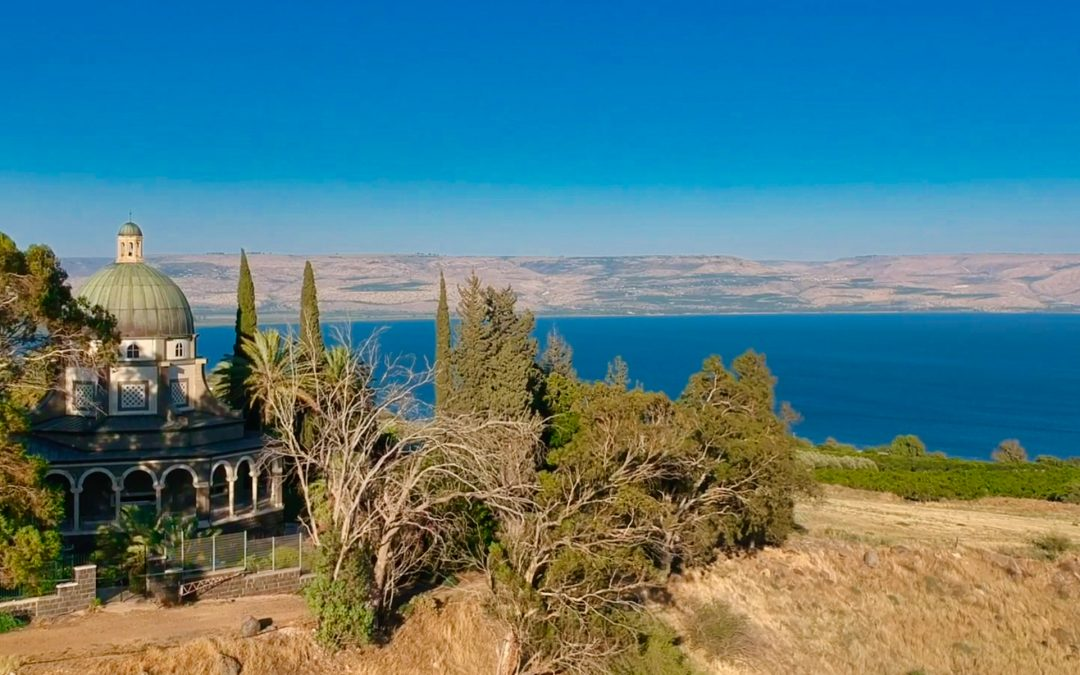 Visiting the Mt. of Beatitudes