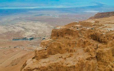 Visiting Masada