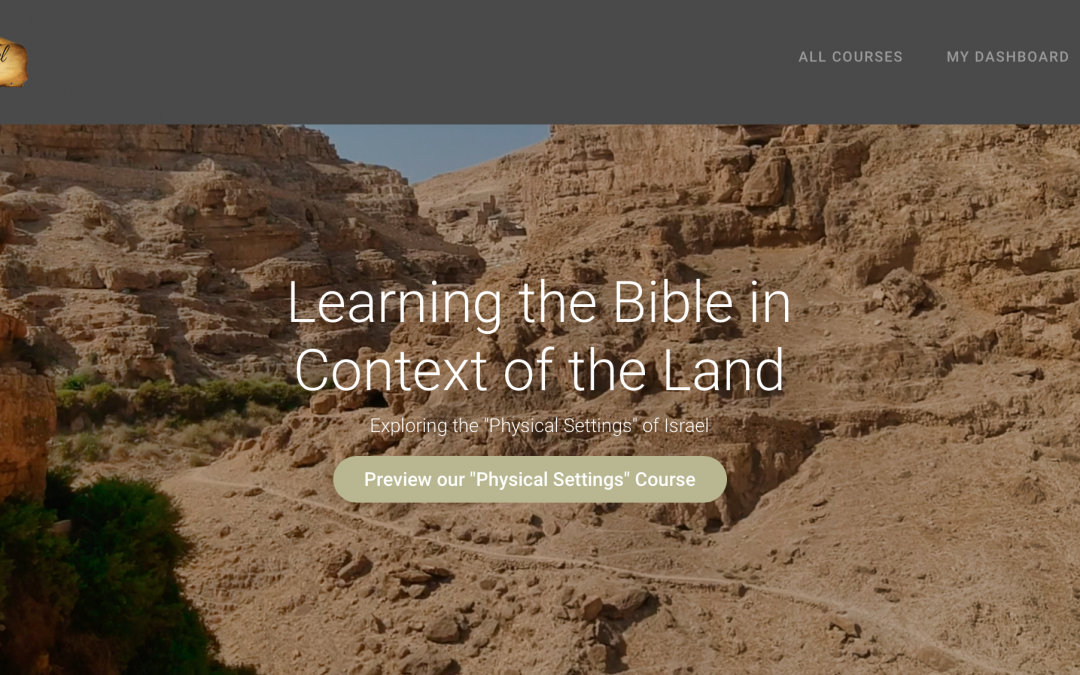 """The Launching of """"The Institute of Biblical Israel"""""""