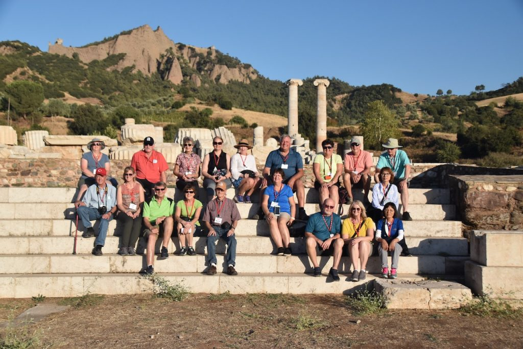 Sardis Artemis Turkey Dr. John DeLancey