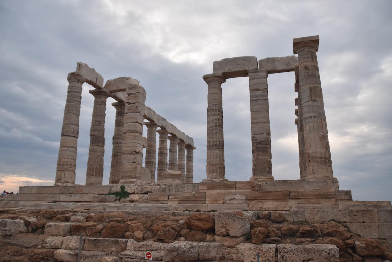 Temple of Poseidon Cape Sounion John DeLancey