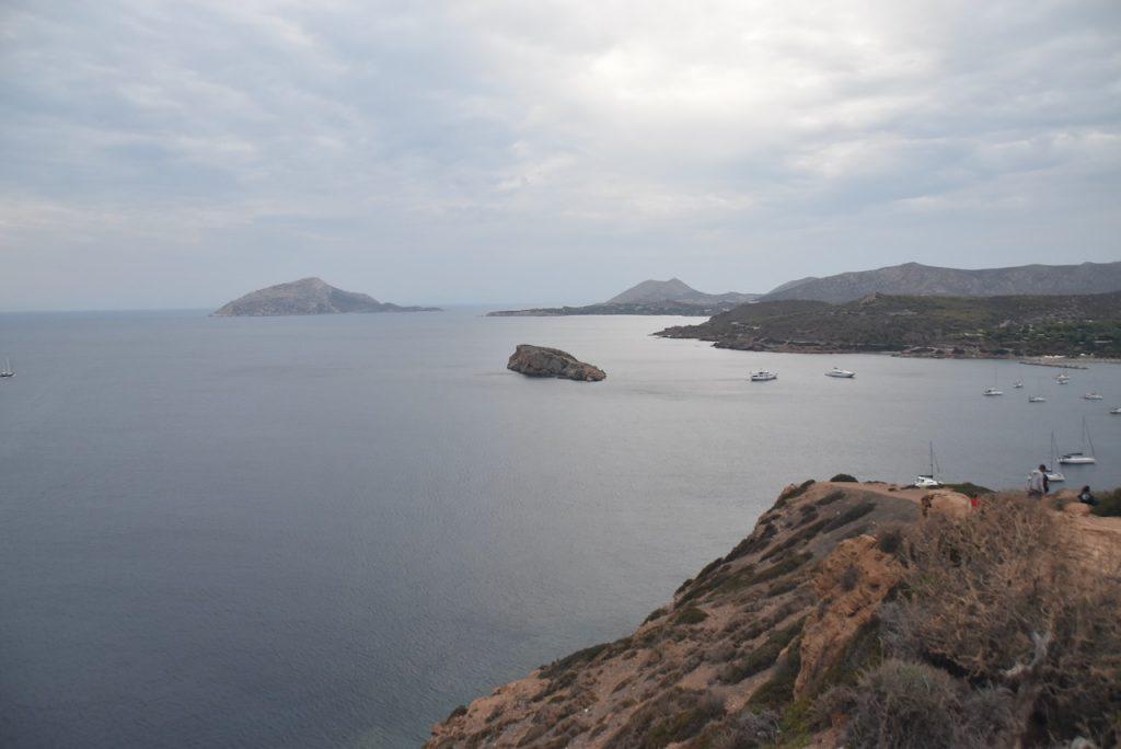 Cape Sounion Poseidon 2021 Greece Tour Dr. John DeLancey BIMT