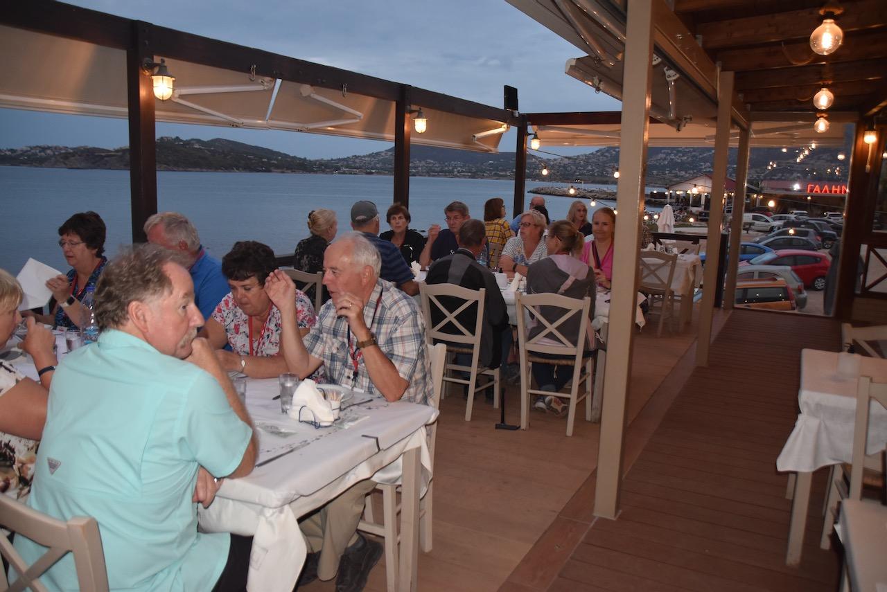 Greek dinner John DeLancey