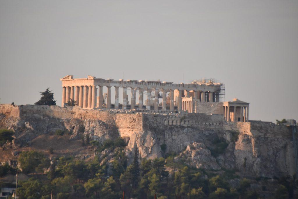 Parthenon Sept 2021 Greece Tour with John DeLancey