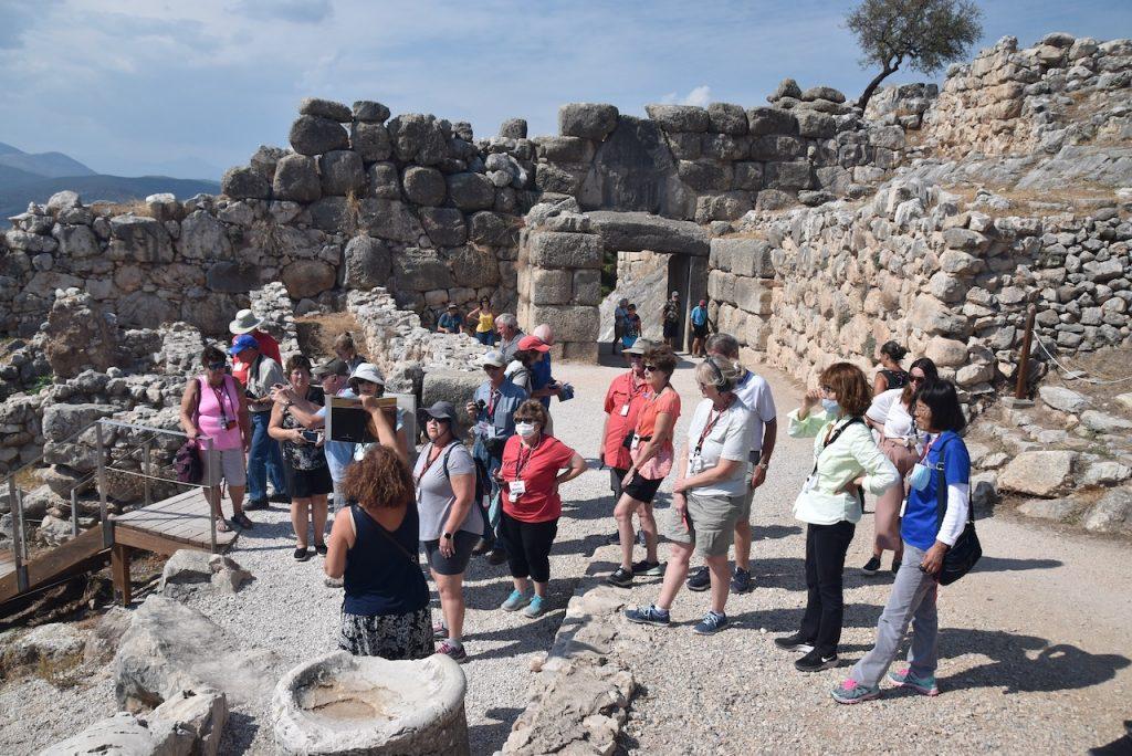 Mycenae Greece Tour Group BIMT