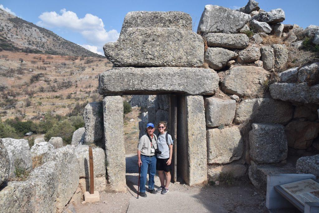 Mycenae Sept 2021 Greece Tour with John DeLancey