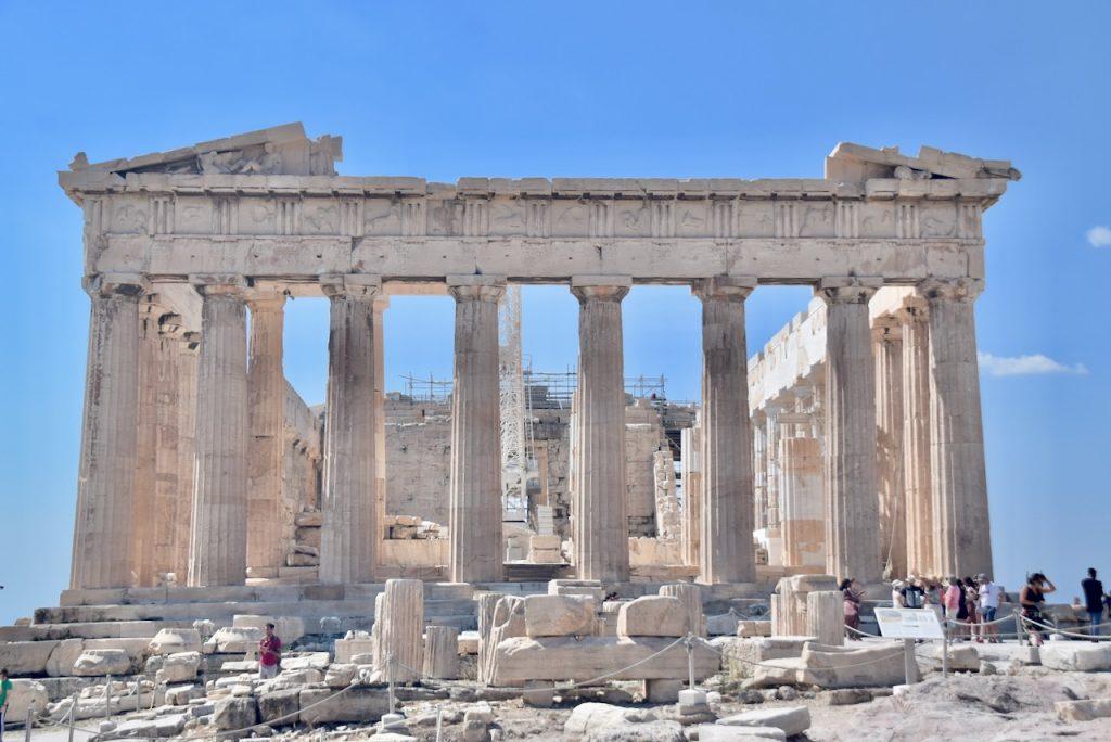 Athens Acropolis Greece Tour September 2021 Dr John DeLancey