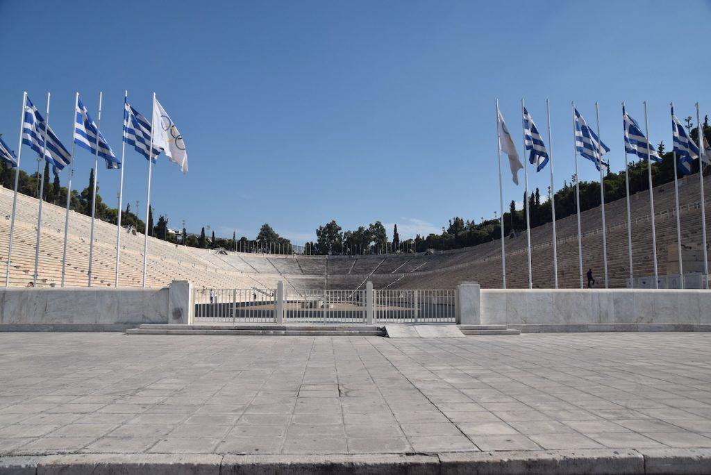 Athens Stadium Greece Tour September 2021 Dr John DeLancey