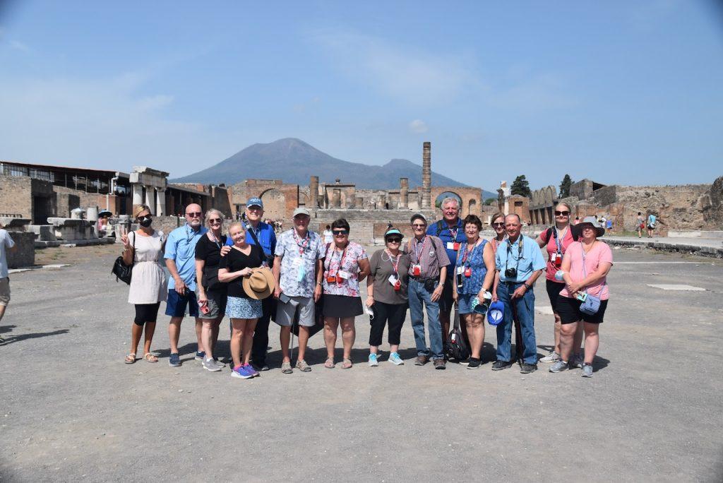 Pompeii Italy Tour John DeLancey